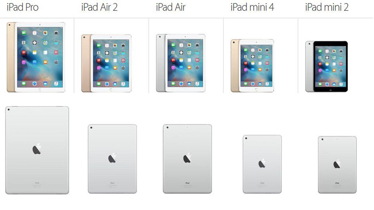 iPad repair models we repair